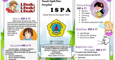 contoh leaflet ispa id ners