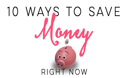10 Ways To Save Money RIGHT NOW - The House of Plaidfuzz