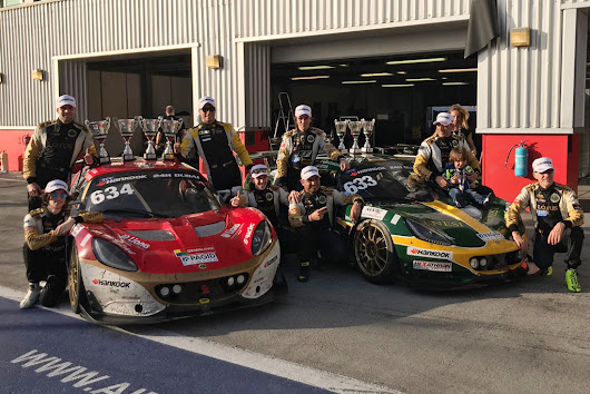 Dubai 24 Hours: PB Racing goes up on the podium with two Lotus Elise Cup PB-R | Hexathron Racing Systems