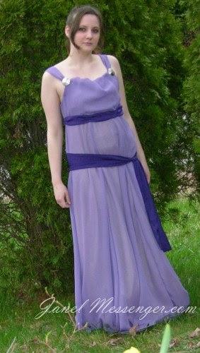 Megara Dress Walkthrough by Janel Messenger