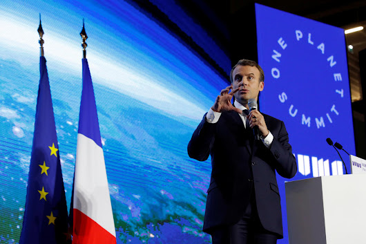 Macron convenes extra-ordinary climate change summit but activists say governments and businesses remain a world away from adequate action | Beyond Magazine