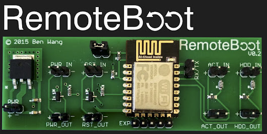 RemoteBoot is an ESP8266 based Board to Power on or Reboot Your Computer over WiFi (Crowdfunding)