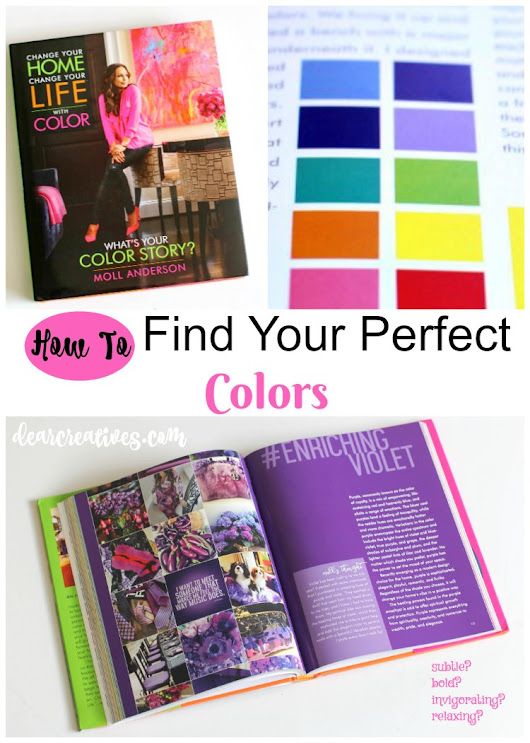 Books Color Theory: Change Your Home, Change Your Life™ with Color by Moll Anderson