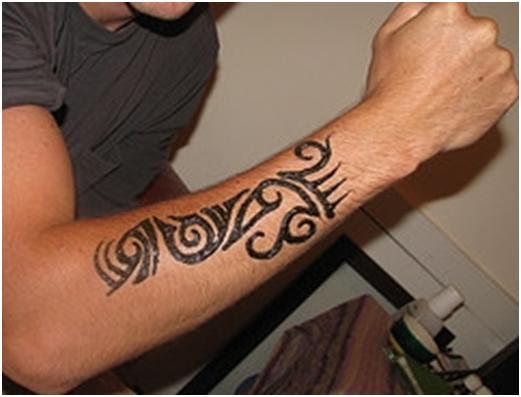 Forearm Tribal Tattoo Designs For Men Tattoomagz