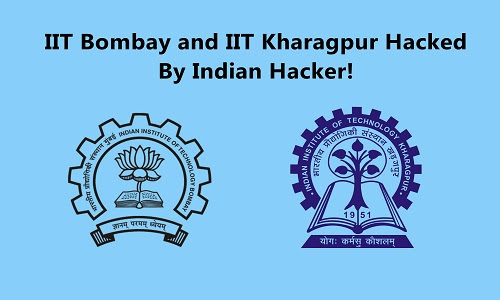 IIT Bombay and IIT Kharagpur Hacked By An Indian Hacker Cryptolulz666