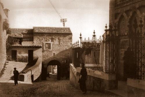 Mezquita del Cristo de la Luz (Toledo), a principios de siglo(1925) Foto Pedro de Répide