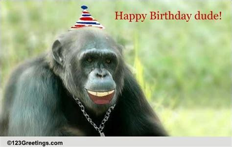 Happy Birthday Dude! Free For Son & Daughter eCards