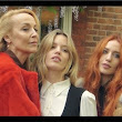 Jerry Hall, Lizzy and Georgia May Jagger  - Vogue.it