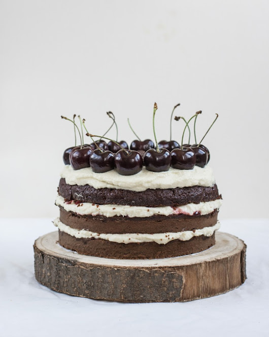 Black Forest Cake with Mascarpone Cream