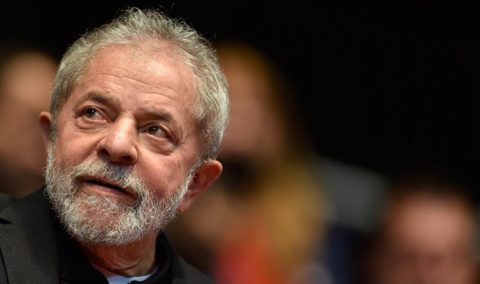 Luiz Inácio Lula da Silva foi condenado na Lava Jato (Foto: Douglas Magno/AFP)