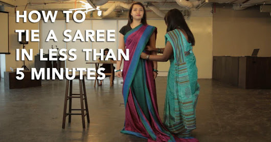 [VIDEO] How To Tie A Saree In Less Than 5 Minutes