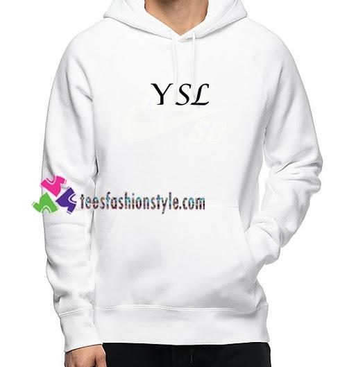 YSL Font Hoodie #sweatshirt #fashion #hoodie #tshirt #hoodies #streetwear #k #style #fitness #sweater...