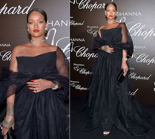 Rihanna in Ralph and Russo Gown at Cannes - Haus of Rihanna