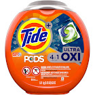 Tide Plus Pods Detergent, 4 in 1, Ultra Oxi - 61 pacs capsules, 1.81 kg