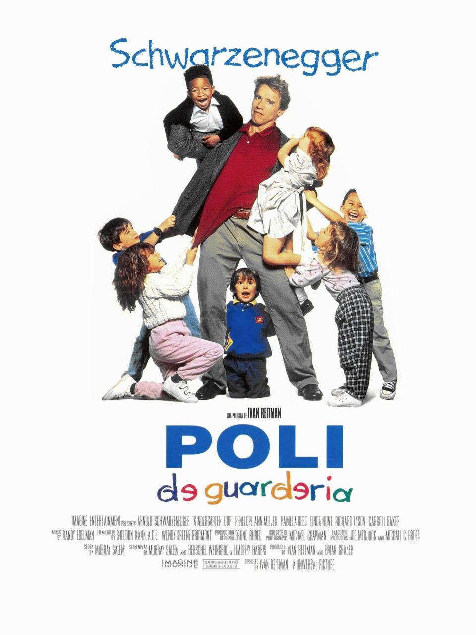póster de la película Poli de guardería