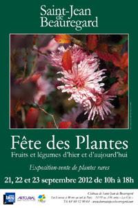 Fête des plantes - Saint Jean de Beauregard