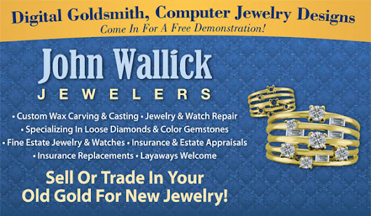 We Buy Gold - John Wallick Jewelers
