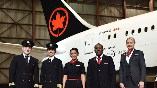 Air Canada shows off new colour schemes for planes and staff uniforms
