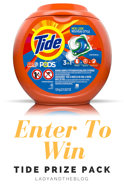 Enter To Win: Tide Pods Prize Pack - Lady and the Blog
