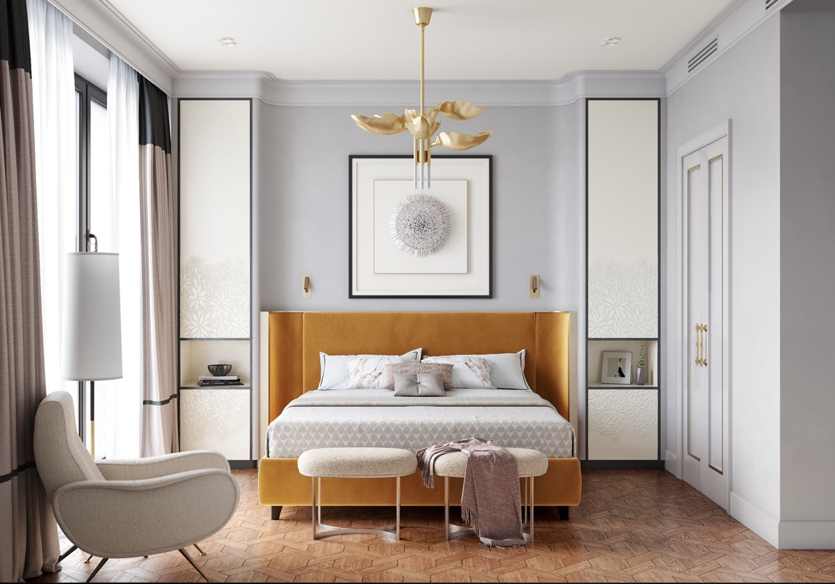 40 Transitional Bedrooms That Beautifully Bridge Modern And Traditional