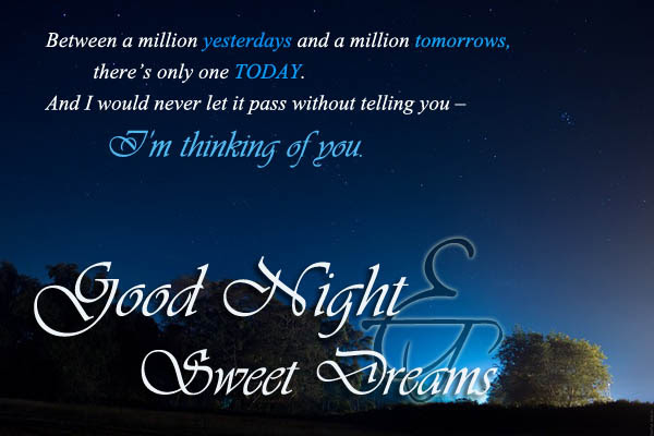Romantic Good Night Messages And Quotes 365greetings Sms Collector
