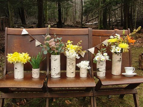 Rustic Wedding Ideas Woodland Weddings by Etsy centerpiece
