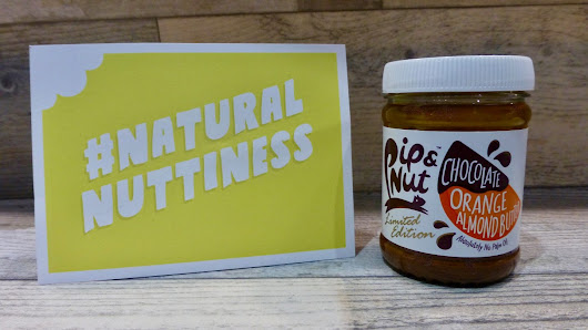 Pip & Nut Chocolate Orange Almond Butter - Nibbles 'n' Scribbles