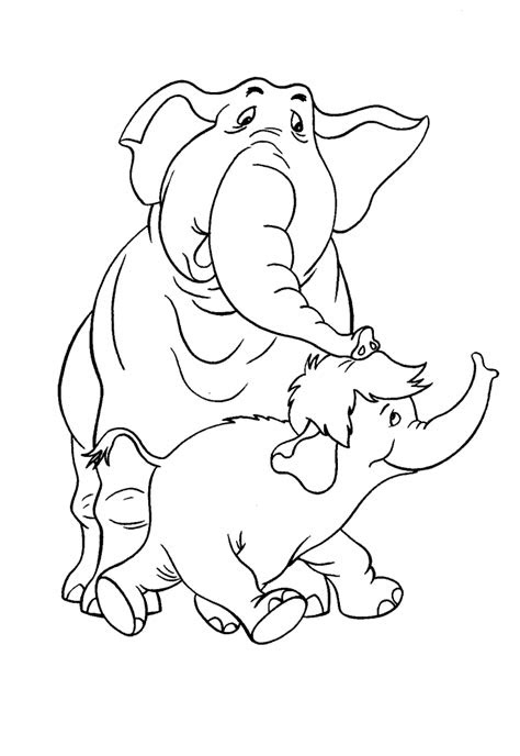 coloring pages  animals   babies coloring home
