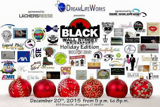 See you at the Black Wall Street Holiday Extravaganza - My Pocketful of Thoughts