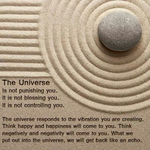 Vibrational Evolution — The universe is not punishing you…