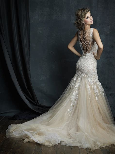 Allure Bridals Couture Dress C388   Terry Costa
