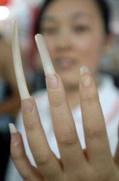 Disturbingly Long Fingernails