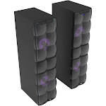 QFX HE620700 Bluetooth Twin Tower Home Entertainment