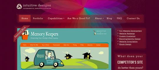 colorfulsites13 55 diseños web repletos de color