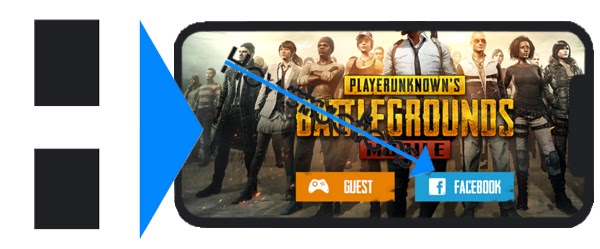 How To Login To Another Pubg Mobile Acc!   ount Howstructions - 3 login to your facebook account now to connect wi!   th your pubg mobile account