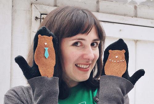 3 Bears Mitten Puppets!