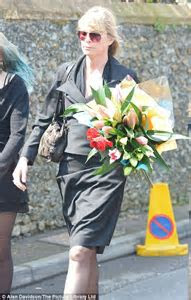 Peaches Geldof's coffin arrives at church as mourners
