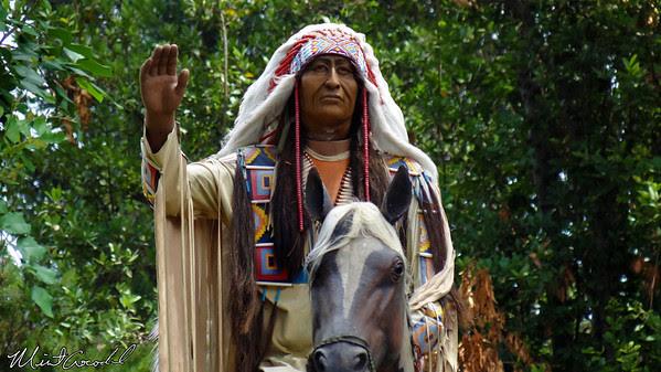 Disneyland Resort, Disneyland, Frontierland, Indian Chief, Limited, Time, Magic
