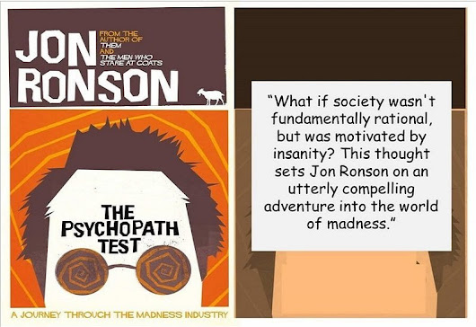 The Psychopath Test: A Compelling Adventure Into The World Of Madness | Crime Traveller
