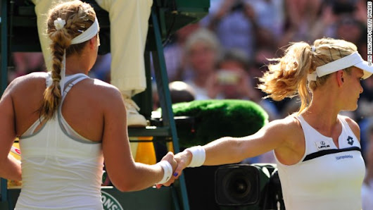 What's in a handshake? In tennis, a lot