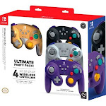 PowerA - Gamecube Wireless Controller for Nintendo Switch (4-Pack)