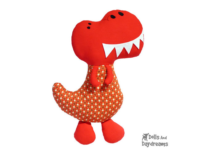 Dinosaur Sewing Pattern