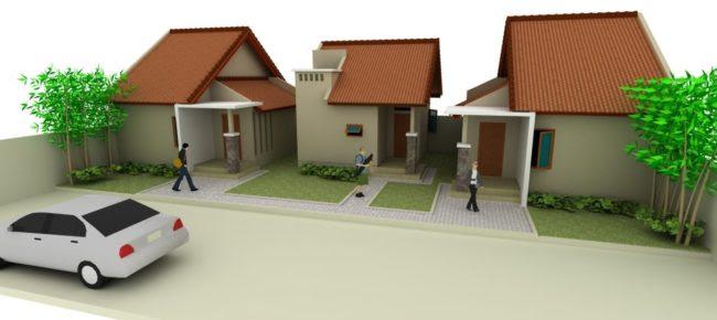 Desain Rumah Kontrakan Petakan