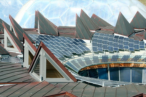 Eden Project's Solar Panels