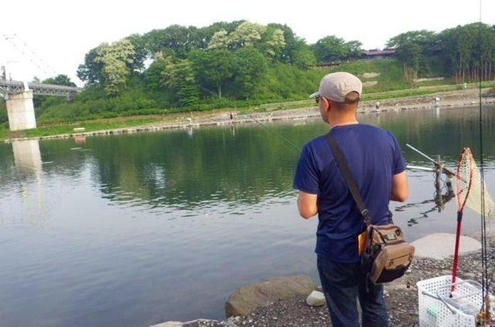フィッシング プラザ 川場 エリアトラウトで数釣り 放流後30分間で10匹【川場フィッシングプラザ】