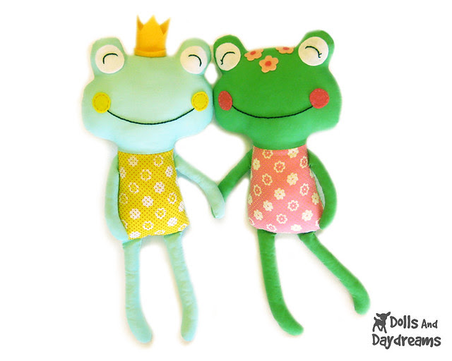 frog prince sewing pattern
