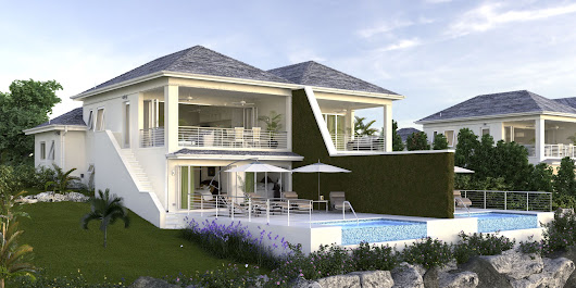 Westmoreland Hills - Villas. Close To Holetown, Saint james, Barbados By James Hill