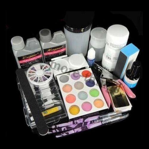 Acrylic Nail Professional Full Kit | eBay
