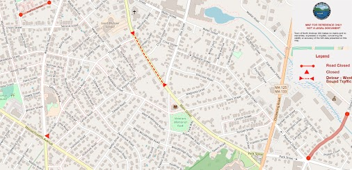 The following areas are currently closed due to Columbia Gas roadwork: Francis Street is closed to thru...
