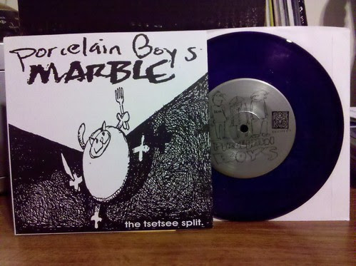 "Porcelain Boys / Marble - Split 7"" /300 - Yes I had to re buy a record released on PopKid"